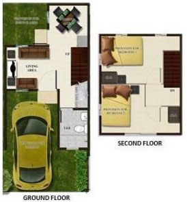 bettina townhouse floor plan
