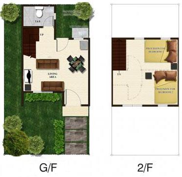 angelique duplex floor plan