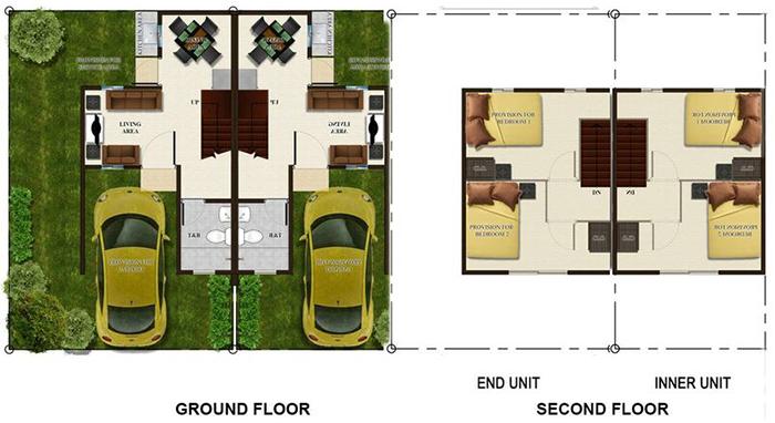 lumina homes adriana-th floor plan