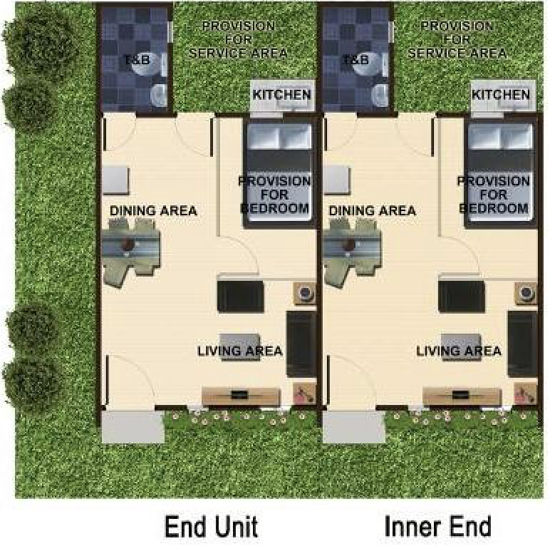 anna rowhouse floor plan